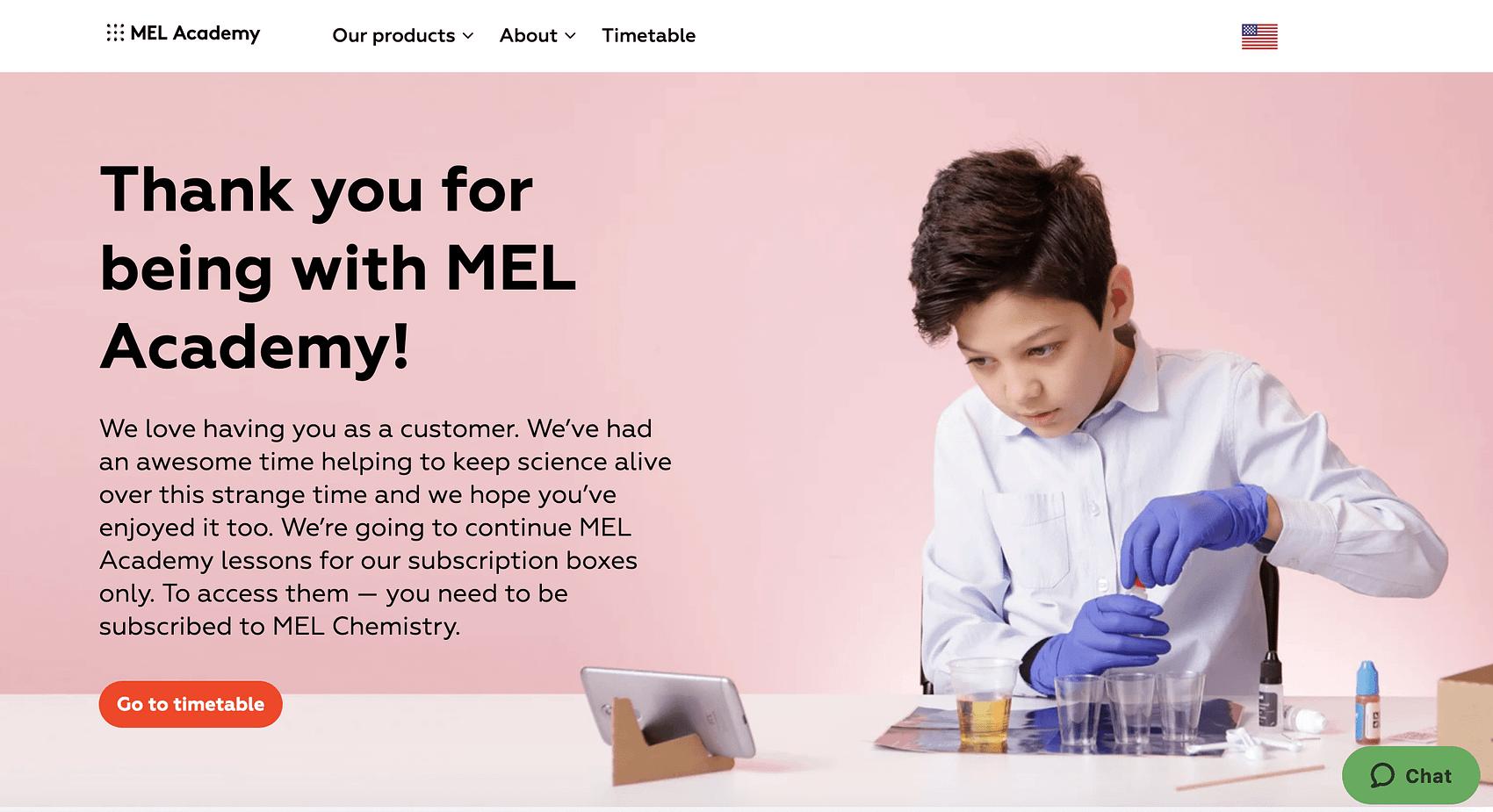 MEL Academy- MEL Chemistry subscription