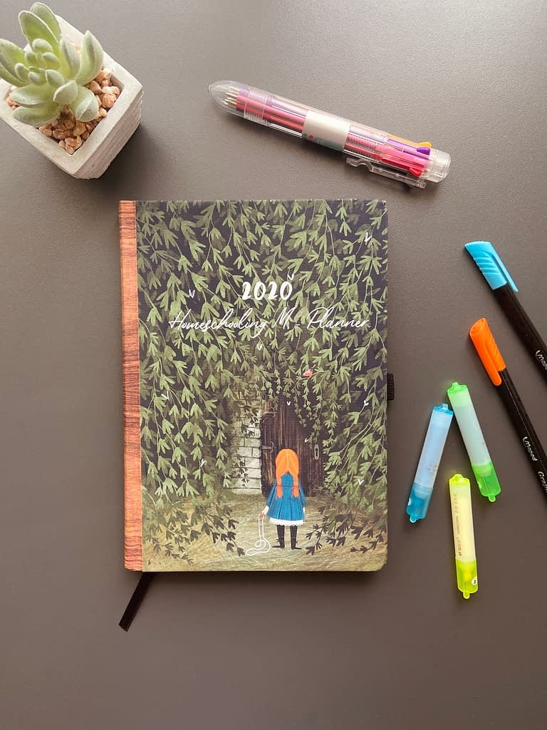 Homeschool planner 2020