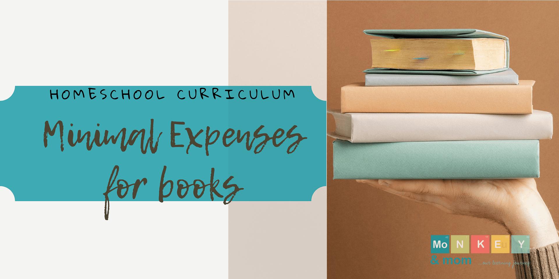 Minimal Expenses Homeschool