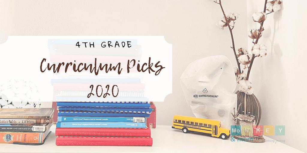 4th grade curriculum picks homeschool 2020