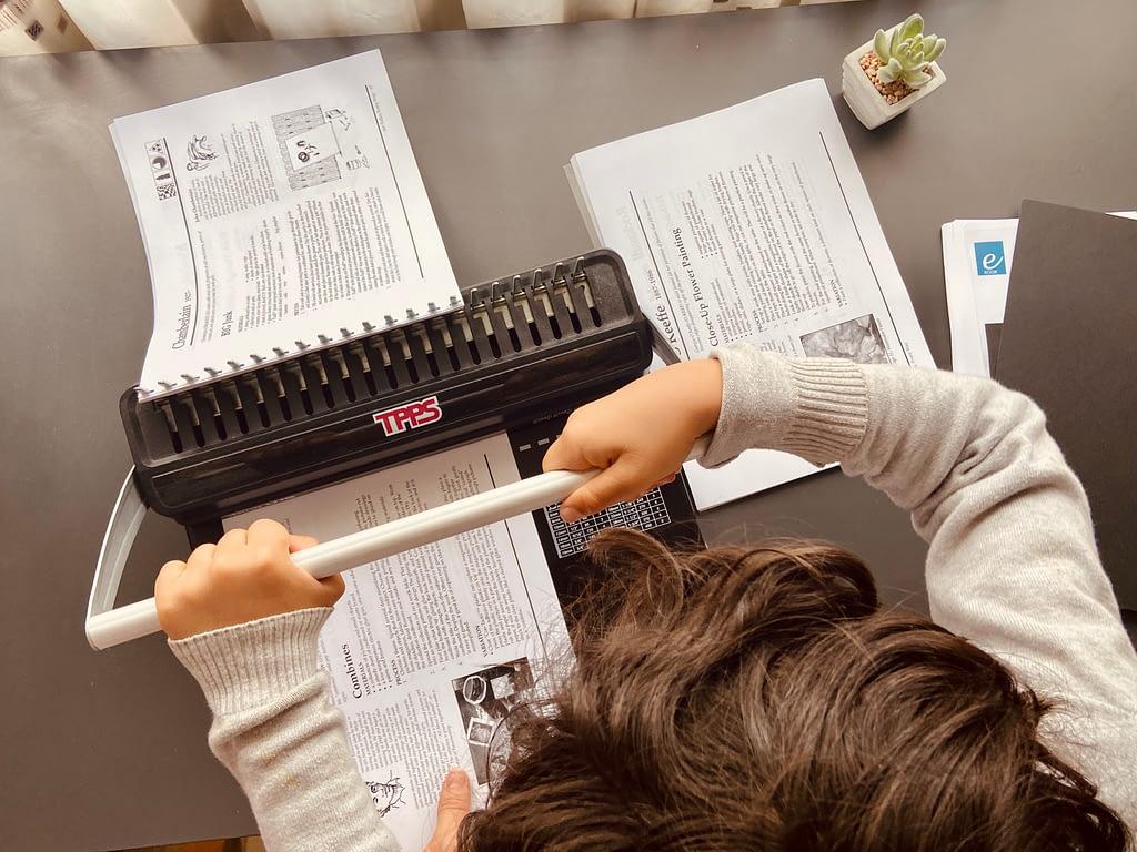 best binding tool for homeschool