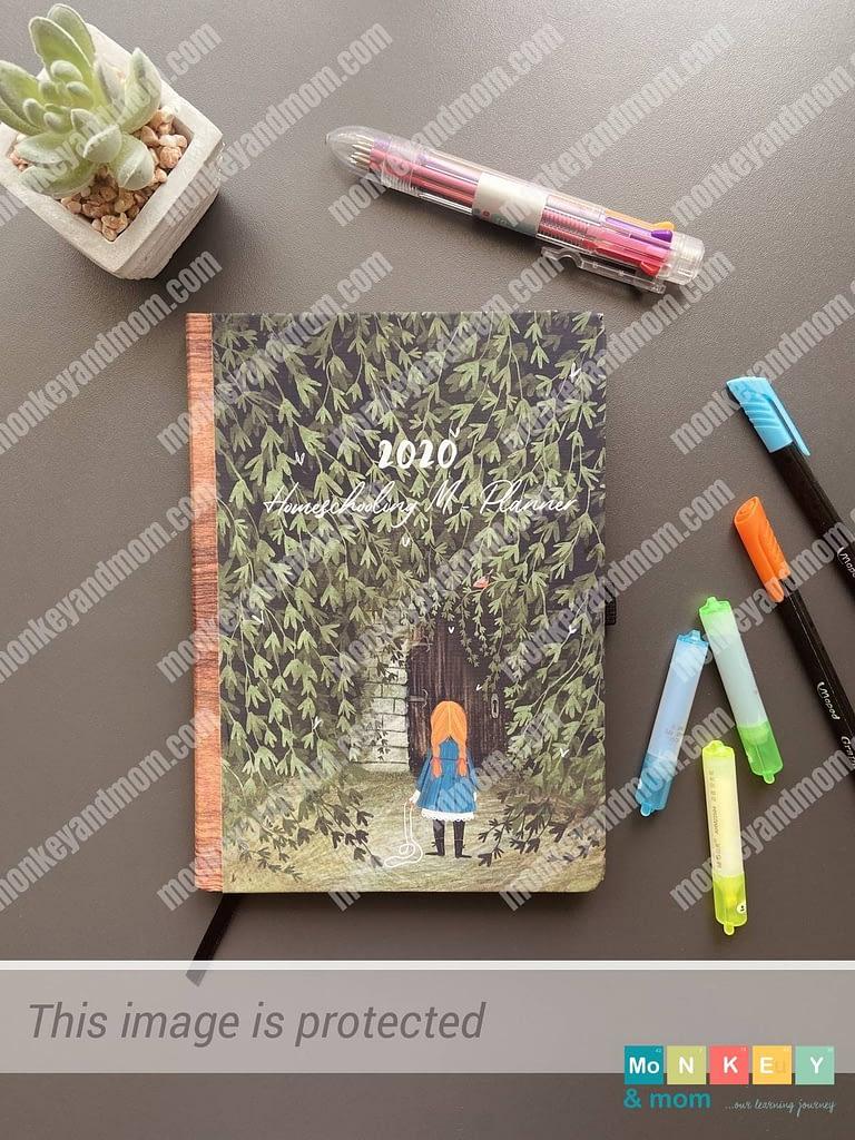 Homeschool planner 2020