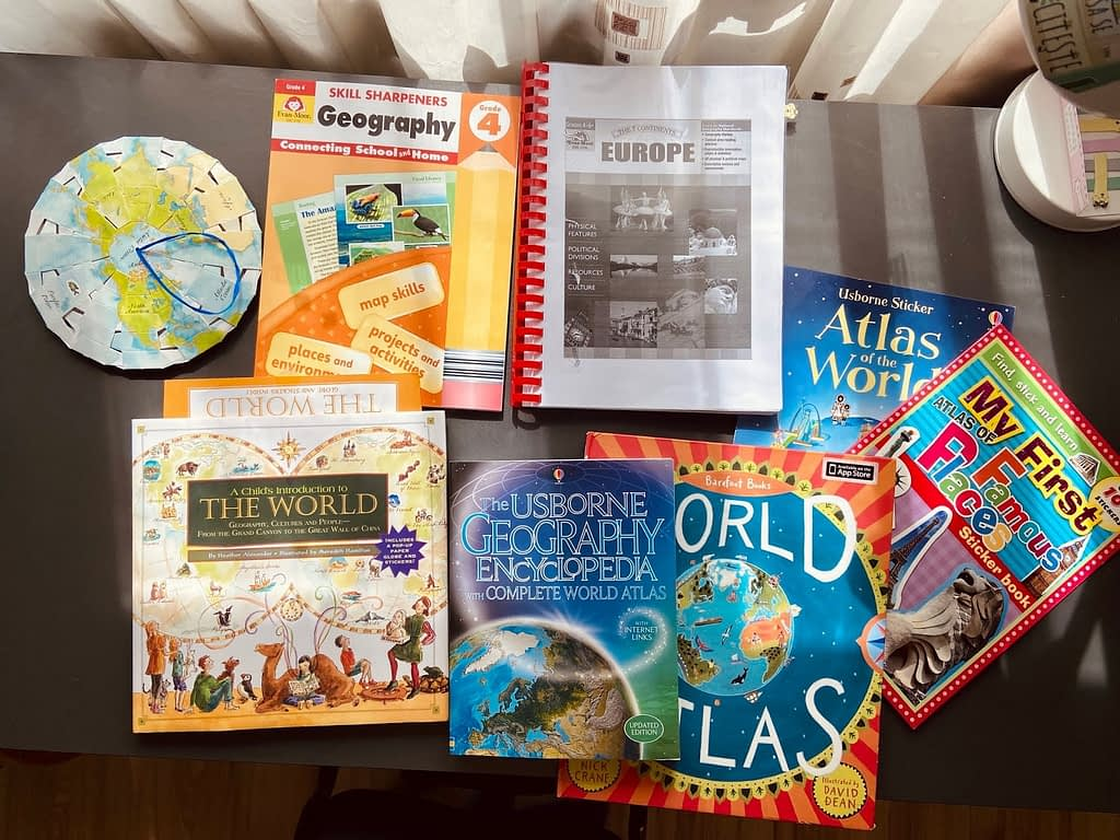 geography grade 4 homeschooling