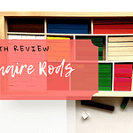 Cuisenaire Rods review homeschool