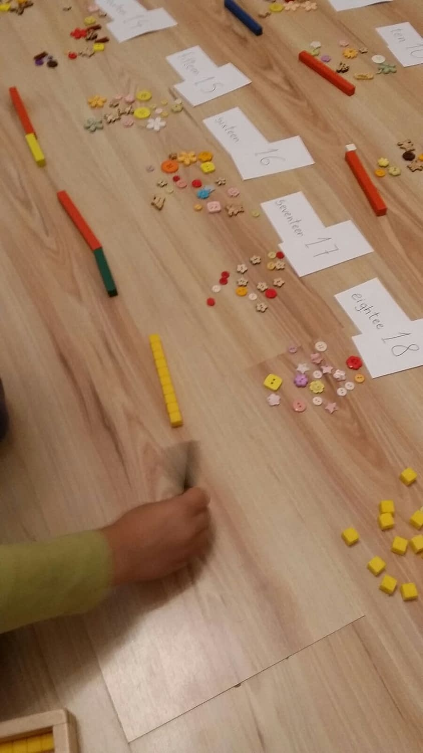 Counting with cuisenaire and singapore math