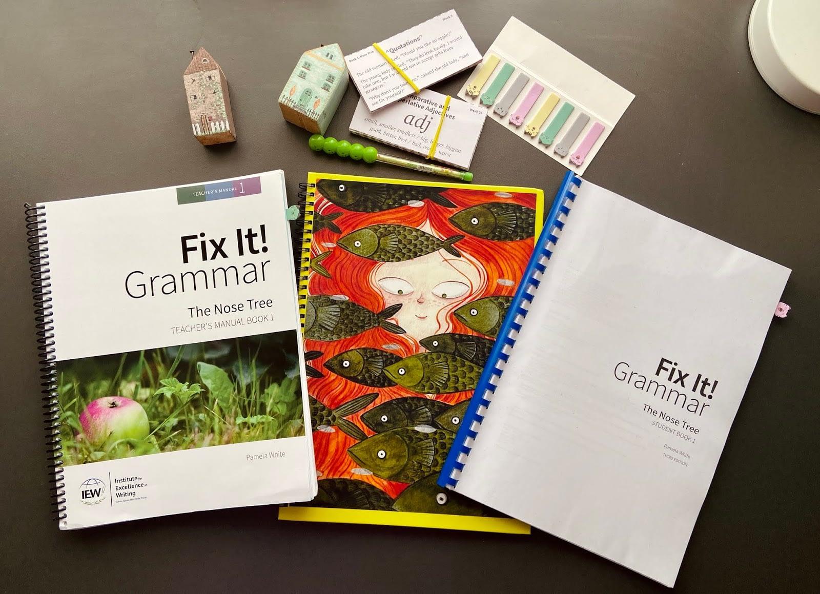 fix it grammar homeschool review 4th grade