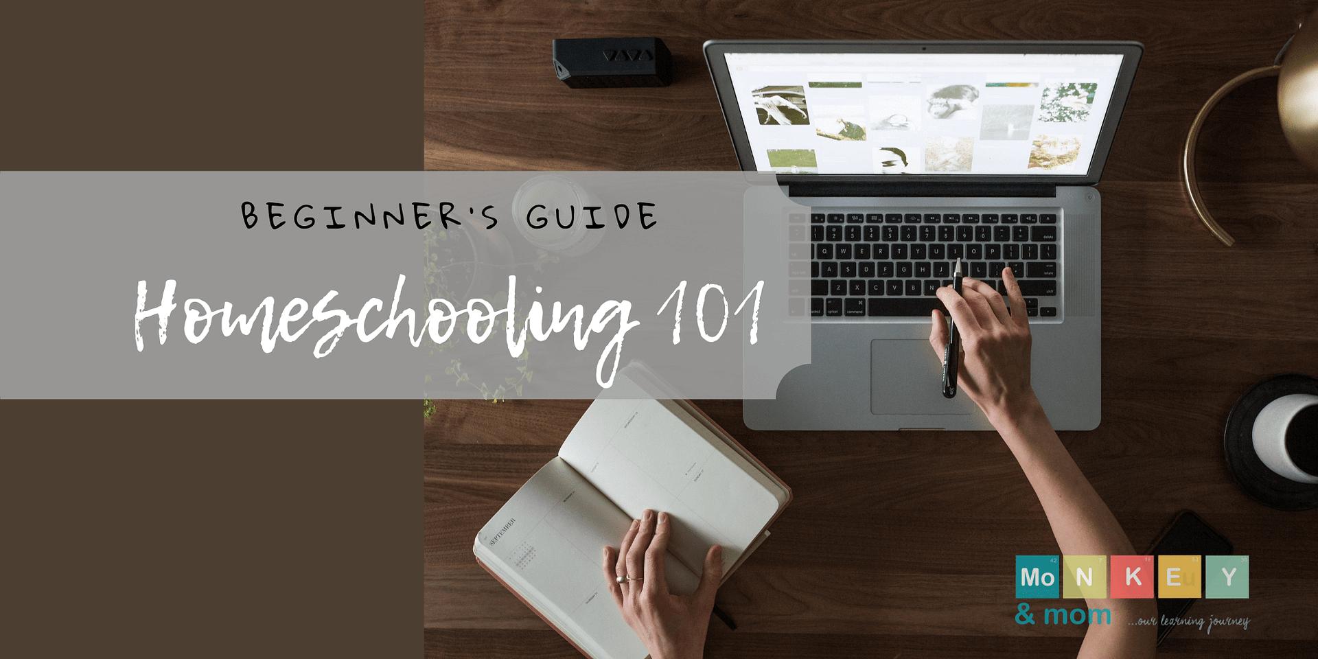 beginner homeschooling 101